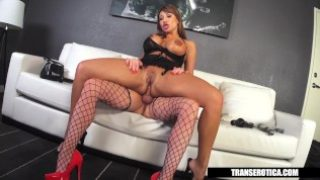 Ava Devine gets Shemale escort for the night