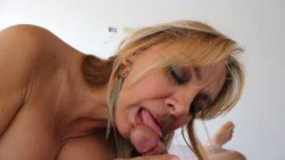 Blonde Slut Gloria Patricia Pulgarin Blowjob Compilation.mp4