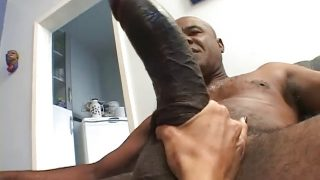 Blonde With Small Tits Endures A Big Black Cock In Her Ass