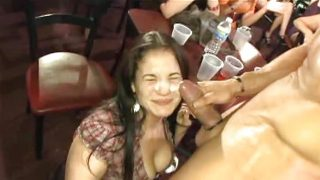 CFNM Male Strippers sucked, fucked by girls – Compilation