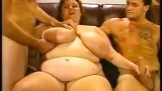 Gangbang Archive BBW MILF slut and 5 guys gangbang party
