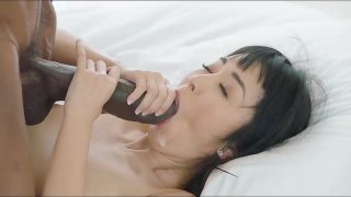Hot Asian girl and extra Huge Black Cock – perfect match