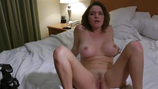 Hot busty wife fuck hubbys friend