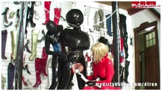Hot latex fetish video