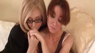 Mature Woman Seduces Shy Young Girl…F70