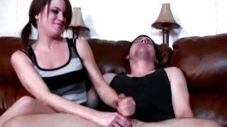 New Handjob & Cumshot Compilation JERKY GIRLS CFNM