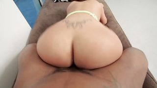 Phat Booty Latina rides BBC until it nuts